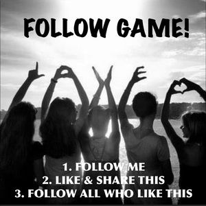 🖤 Follow Game With Over 800+ Followers!